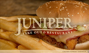 Juniper Take Out & Restaurant